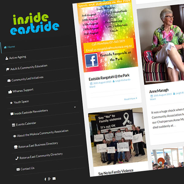 Inside Eastside - Website of the Mokoia Community Association